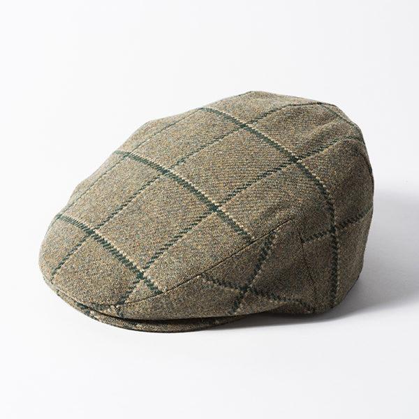 Failsworth Gamekeeper Tweed Cap | Olive