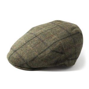 Failsworth Waterproof Cap | Olive Check