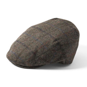 Failsworth Waterproof Cap | Olive Grey Check