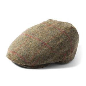 Failsworth Waterproof Cap | Brown Check