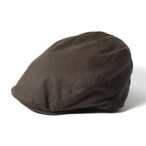 Failsworth Wax Flat Cap | Olive