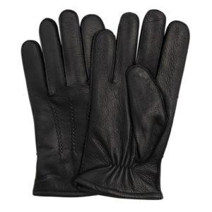 Failsworth Winston Leather Gloves   Black