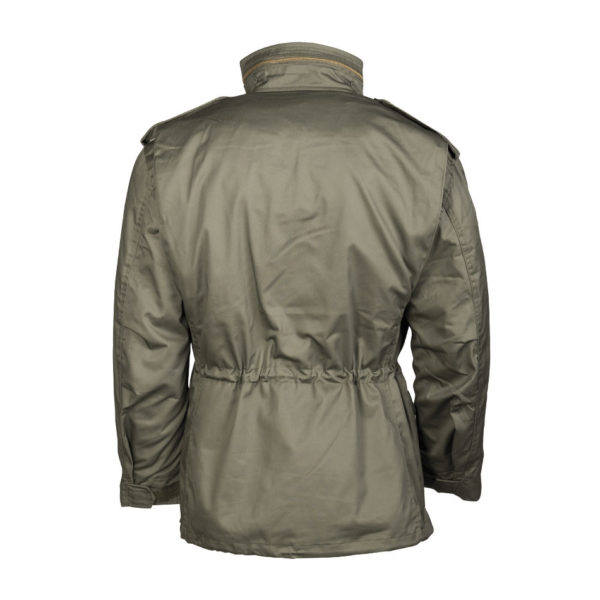 Mil-Tec M65 Field Jacket | Olive Back