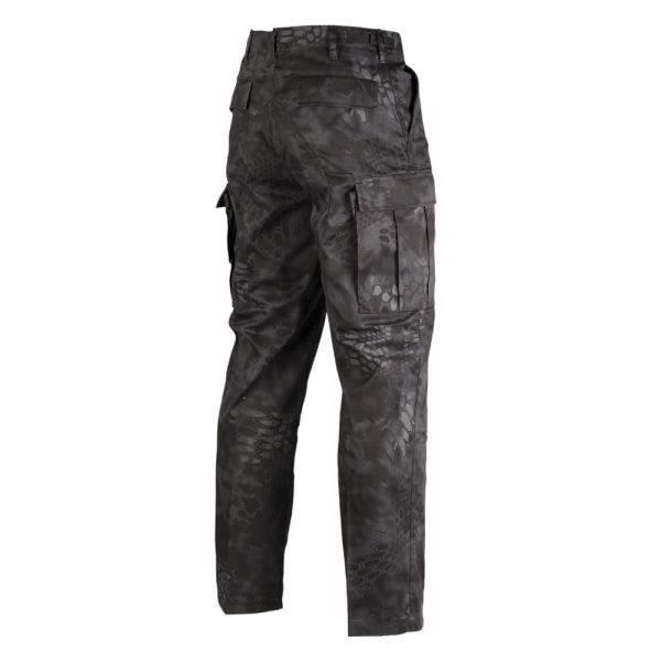 Mil-Tec Mandra BDU Field Pants | Night Back