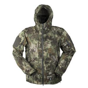 Mil-Tec Mandra Hardshell Jacket | Wood