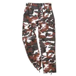 Mil-Tec US BDU Style Ranger Pant | Red Camo