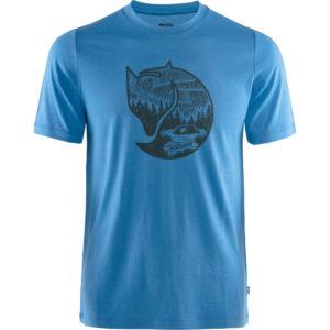 Fjallraven Abisko Wool Fox SS | UN Blue