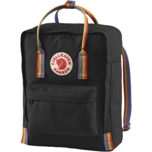 Fjallraven Kanken Rainbow | Black