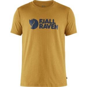 Fjallraven Logo T-Shirt   Ochre
