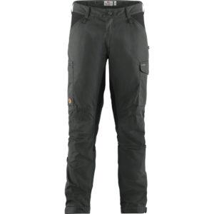 Fjallraven Kaipak Trousers | Dark Grey Black