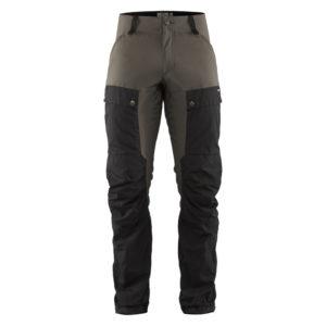 Fjallraven Keb Trousers | Black Stone Grey