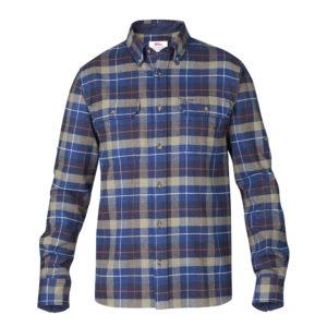 Fjallraven Singi Heavy Flannel Shirt | Navy